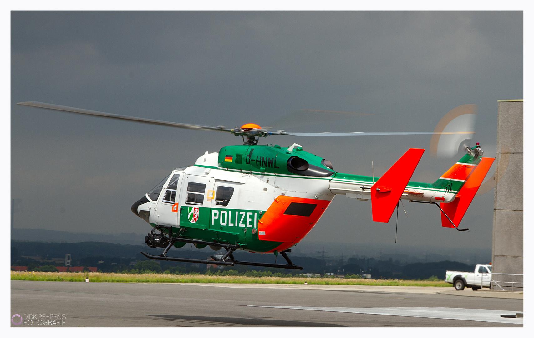 Hummel - Hubschrauber der Polizei NRW (Bild 2)