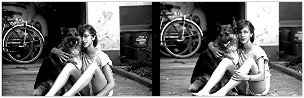 Hund und Mädchen2