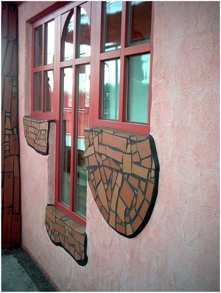 Hundertwasser - Bahnhof in Uelzen