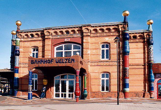 Hundertwasser-Bahnhof Ülzen