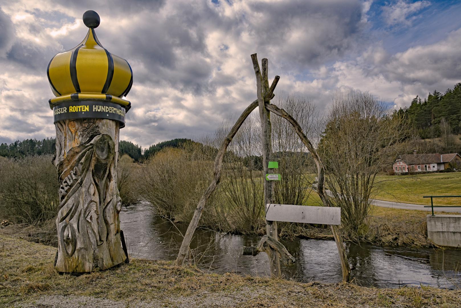 Hundertwasser Dorfmuseum Roiten Waldviertel