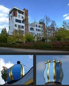 Hundertwasser- Gymnasium in Wittenberg...