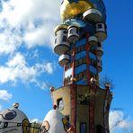 Hundertwasser ( Künstler) Turm / Abendsberg Bayern