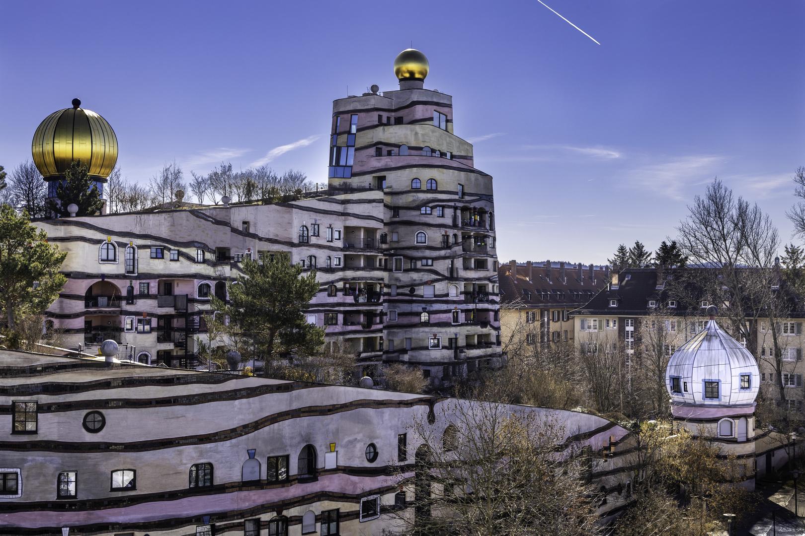 Hundertwasserhaus Darmstadt Foto & Bild   architektur ...