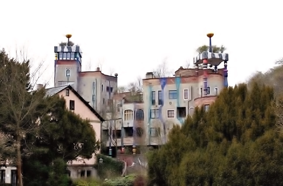 HundertwasserHaus in Bad Soden