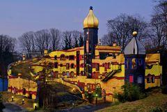 Hundertwasserhaus in der Gruga in Essen