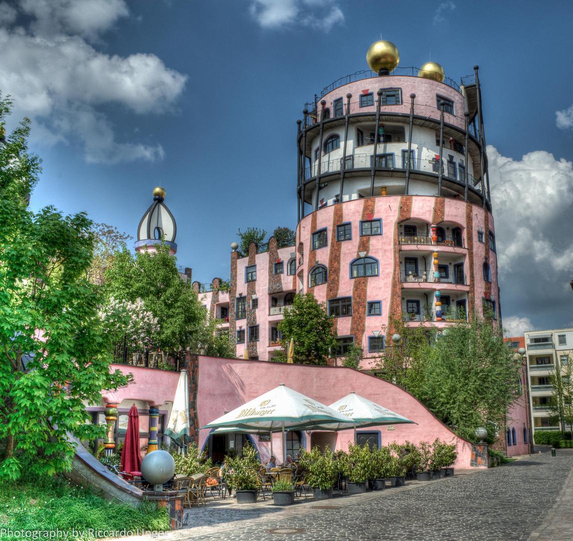 Hundertwasserhaus-Magdeburg