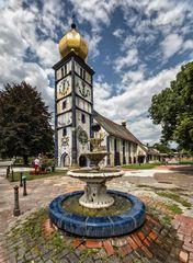 Hundertwasserkirche in Bärnbach! (1)