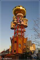 Hundertwasserturm...