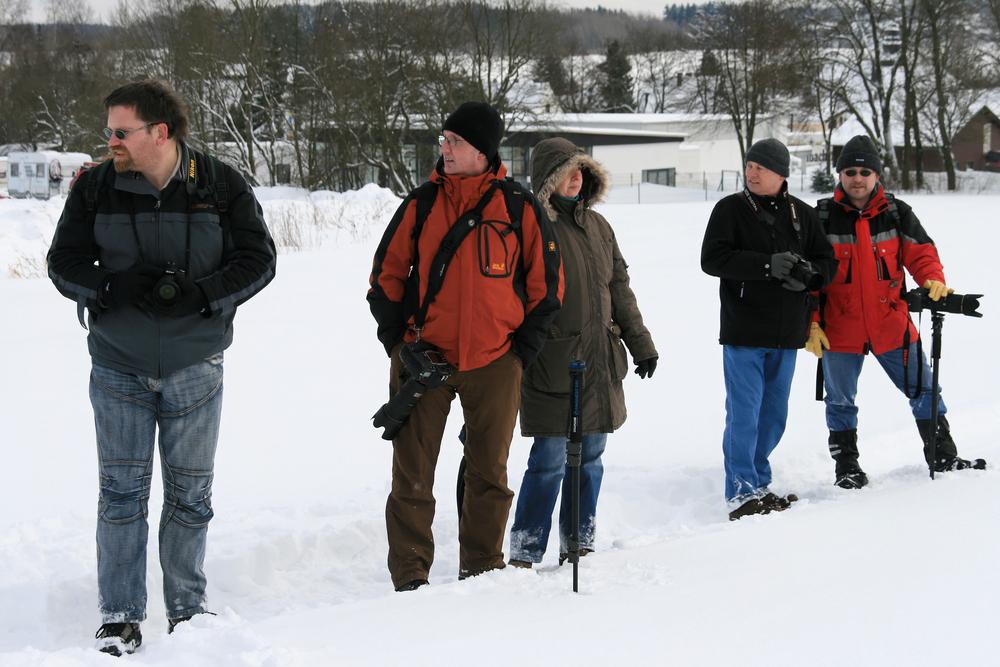 Hundeschlittenrennen am 30.01.2010 in Liebenscheid