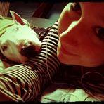 Hundi und ich.