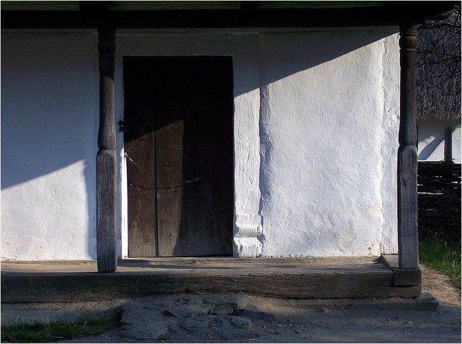 Hungarian rural house