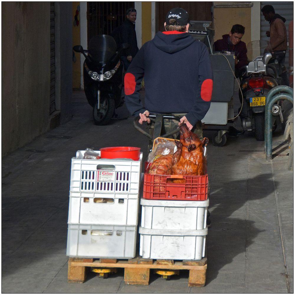 Hure de cochon mobile