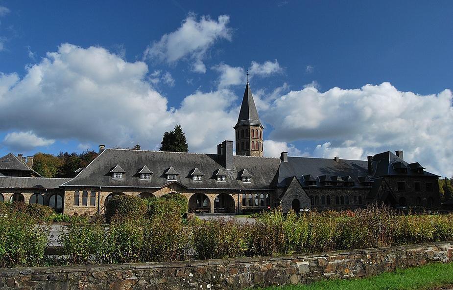 Hurtebise Kloster bei St. Hubert, Belgien
