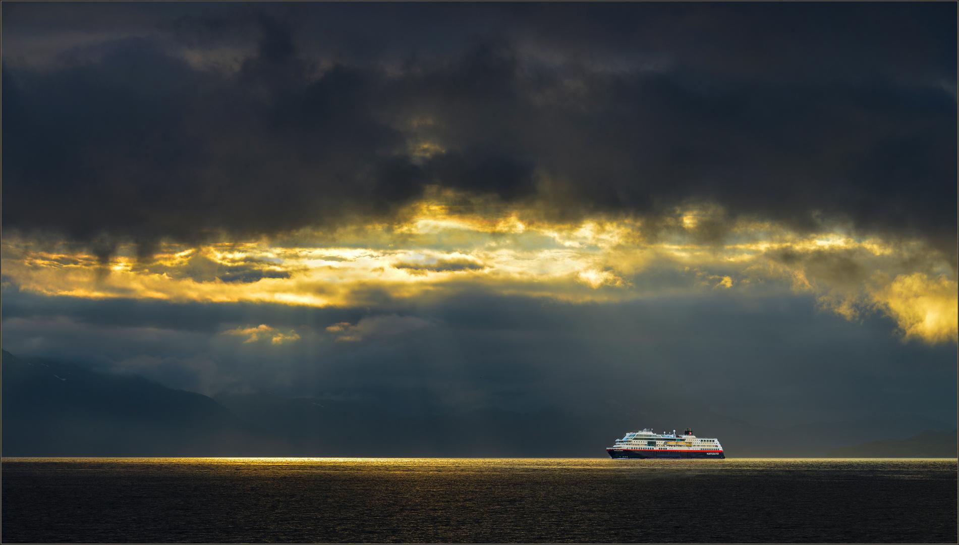 Hurtigrute in Norwegen