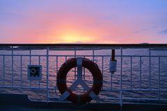 Hurtigruten sunset