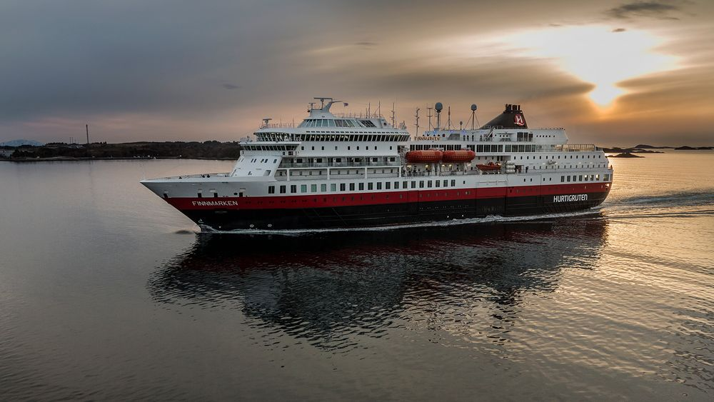 Hurtigschiff MS FINNMARKEN