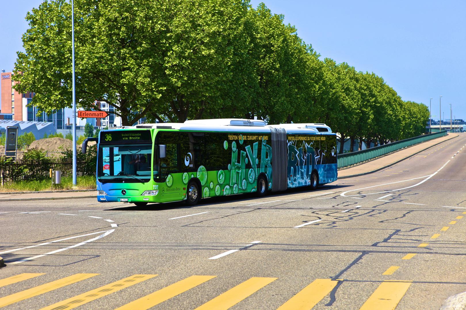 Hybridbus Basel