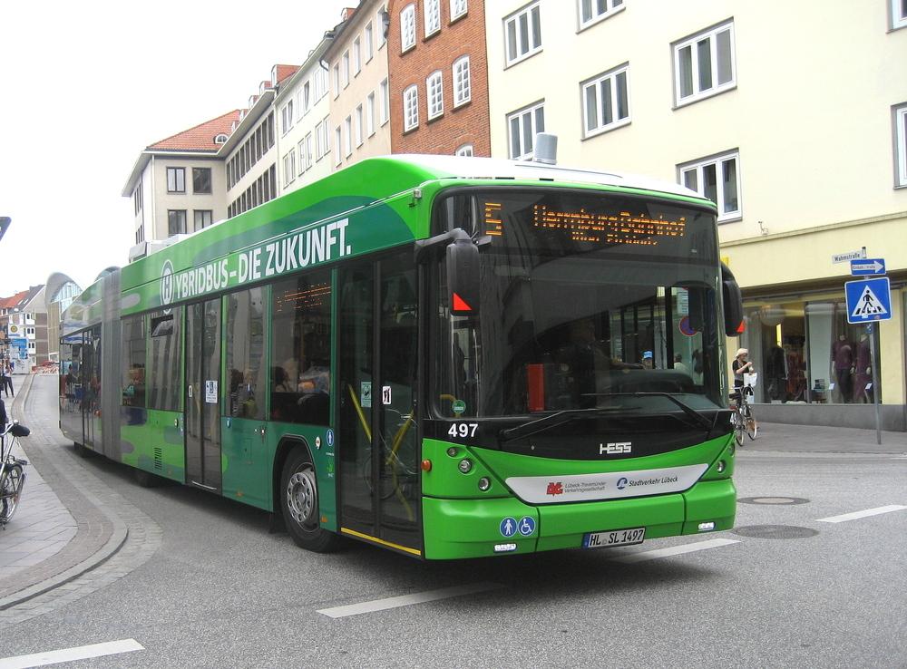 bus in lübeck