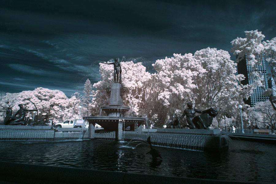 """""""Hyde Park Fountain"""""""