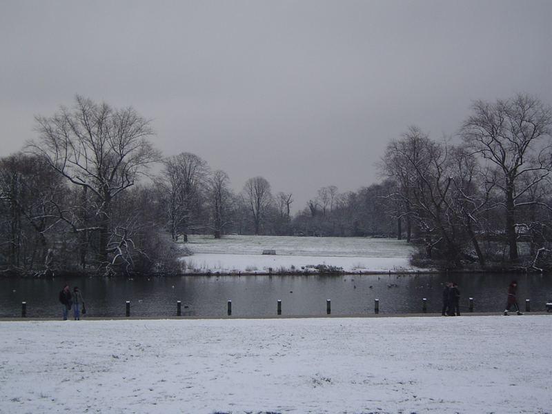 hyde park in white_3