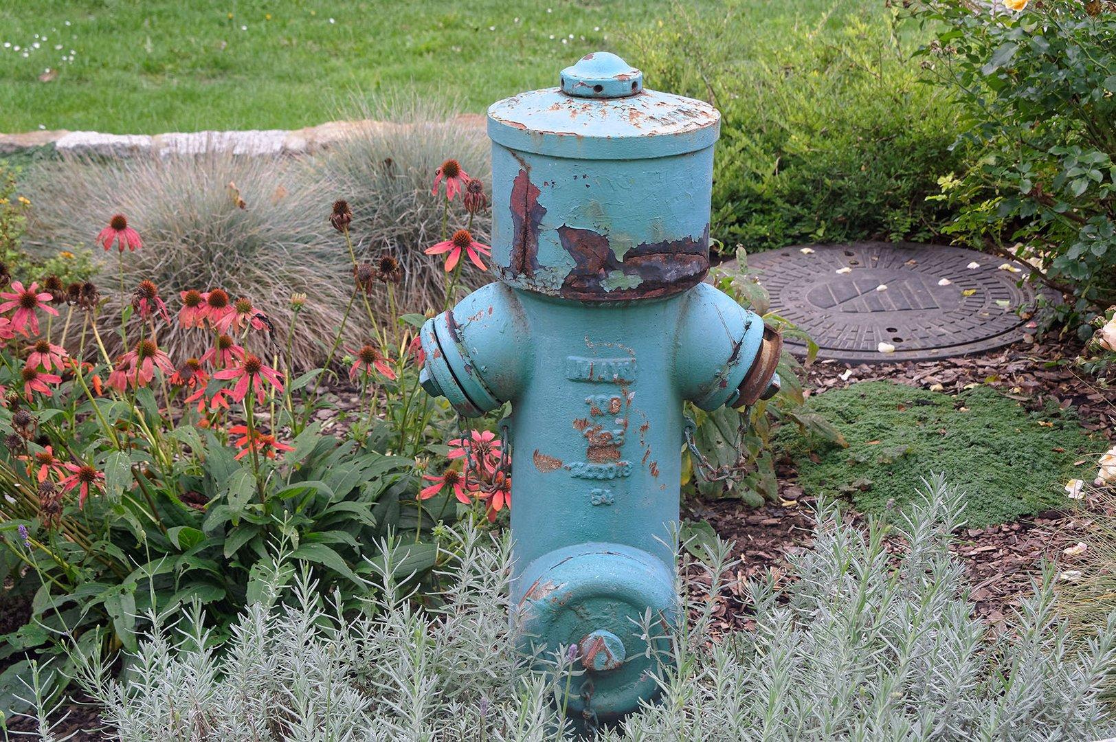Hydranten müssen nicht feuerwehrrot sein