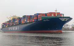 HYUNDAI   FORCE- Containerschiff