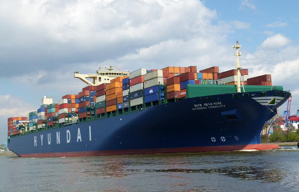 Hyundai Tenacity          /    Container-Neubau
