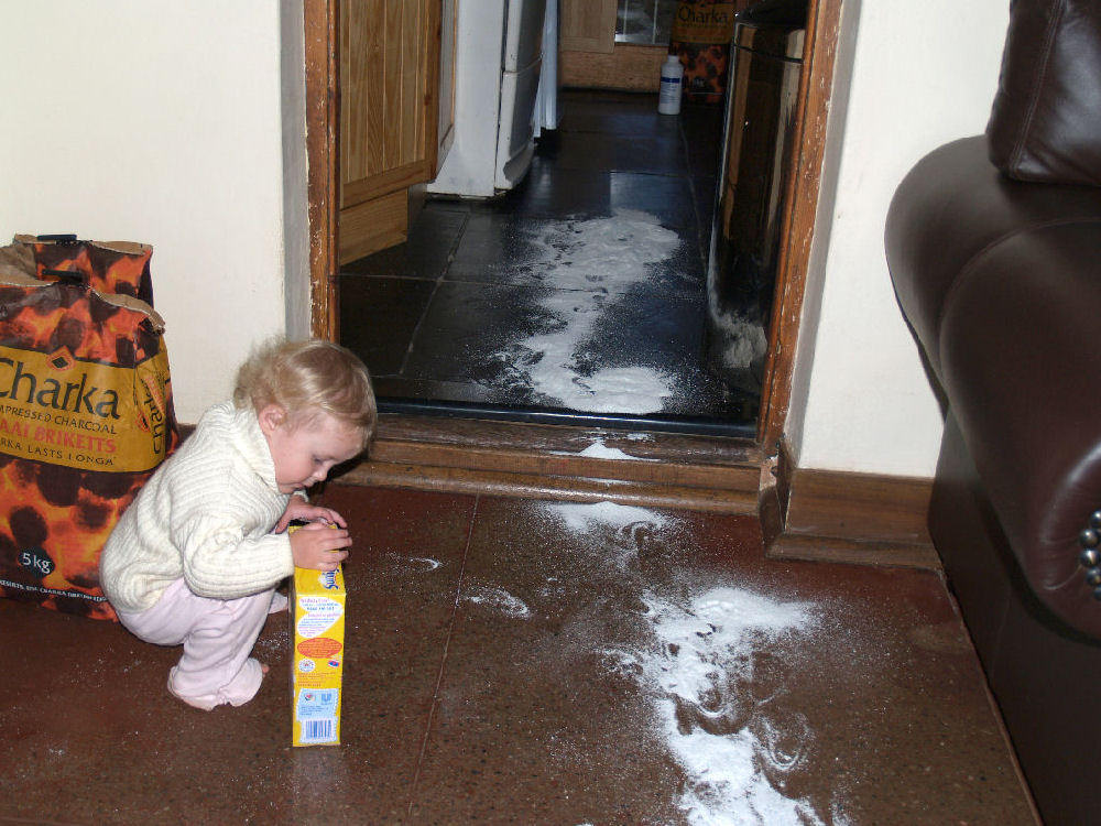 I am innocent, it's a whitewash...