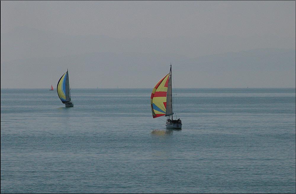 I' am sailing....