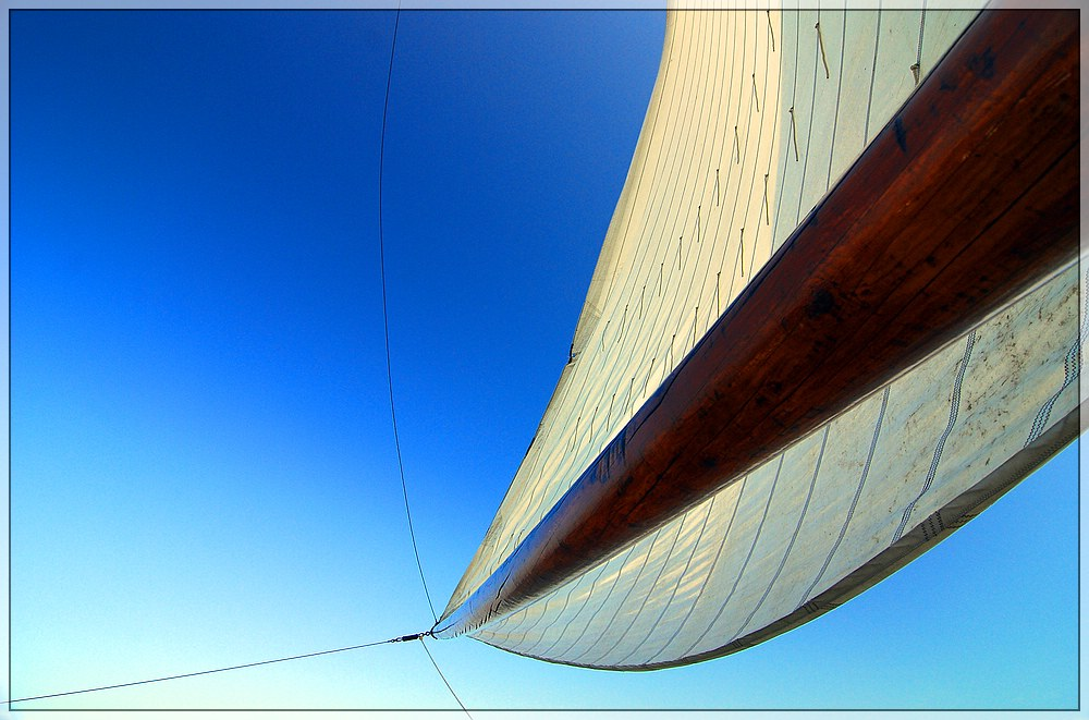 I am sailing