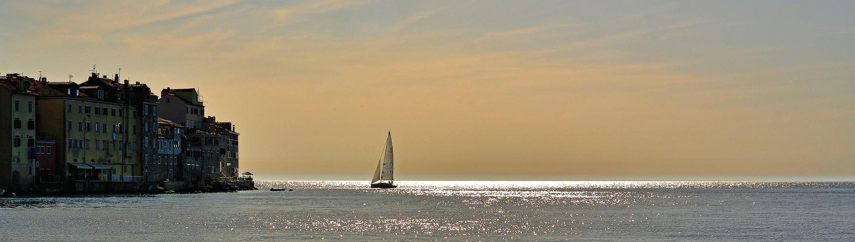 I am sailing!