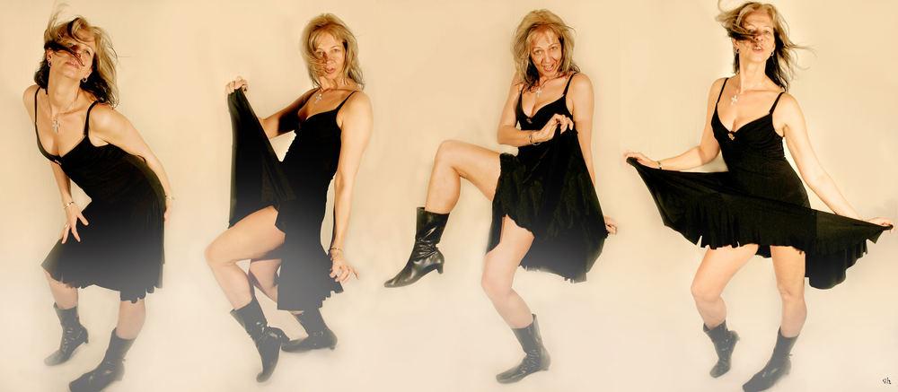 I can dance......!!! ****