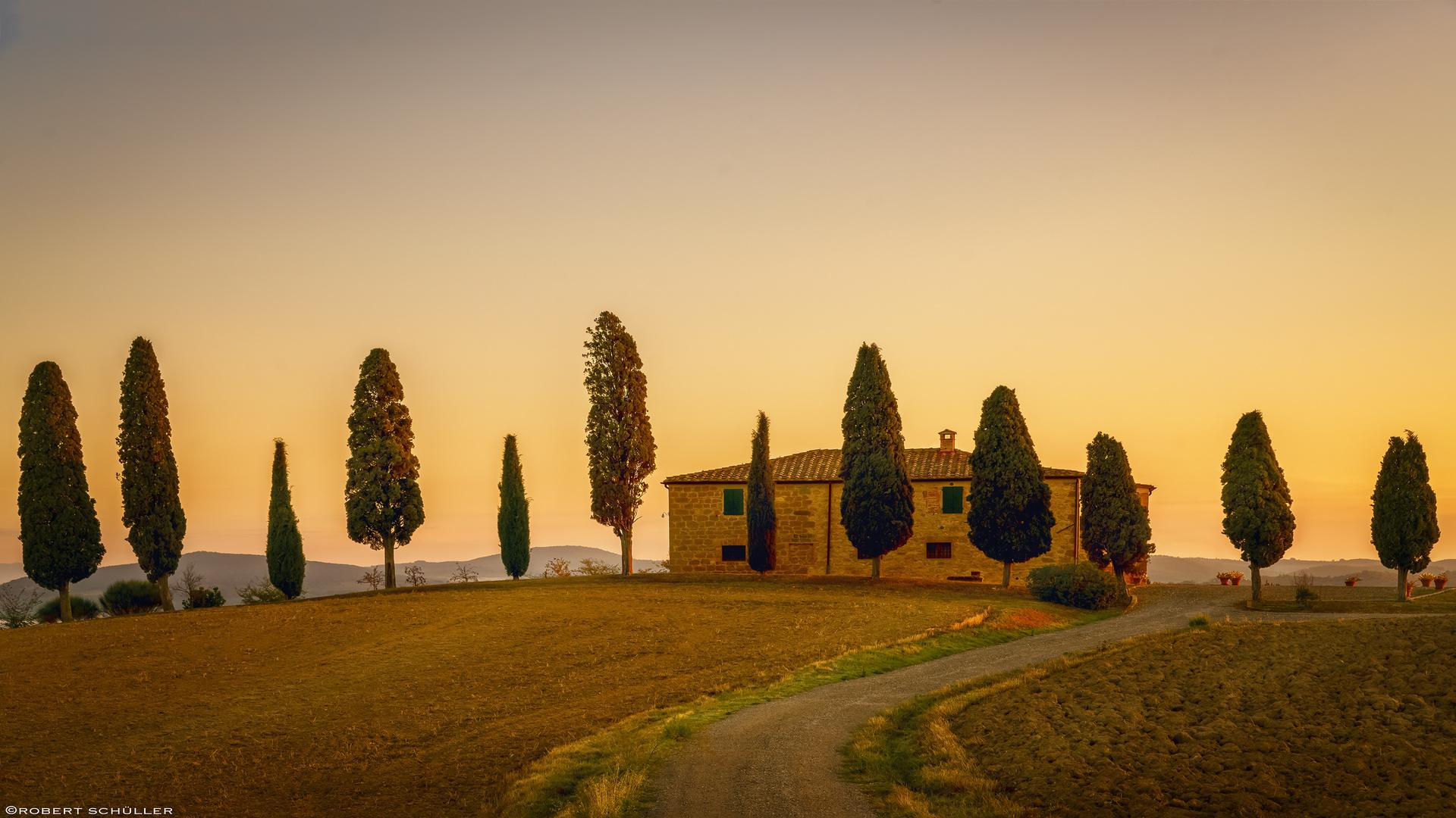 I Cipressi, im Herzen der Toskana.