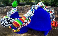 i colori nel Giardino dei Tarocchi