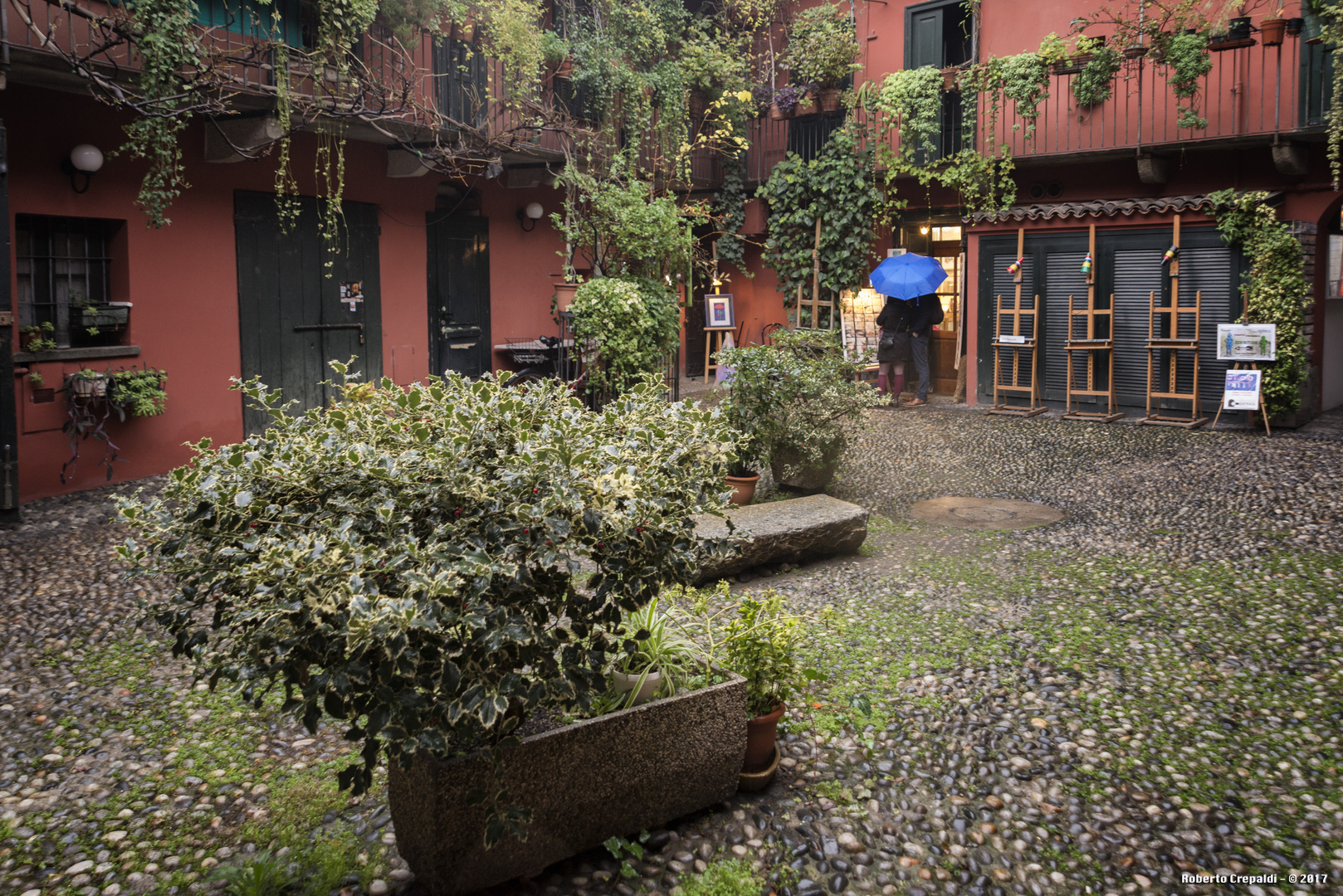 I cortili del Naviglio a Milano