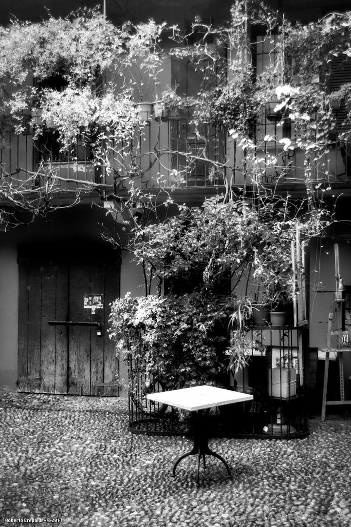 I cortili del vicolo lavandai