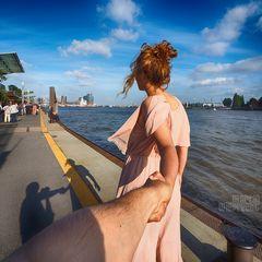 I Follow You: Elbphilharmonie - Blick von den Landungsbrücken