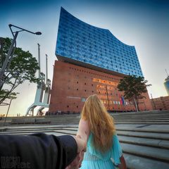 I Follow You: Elbphilharmonie (der Weg hin)