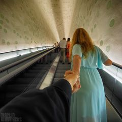 I Follow You: Elbphilharmonie (die Rolltreppe)
