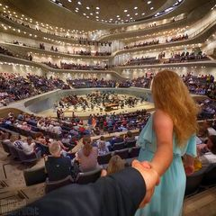 I Follow You: Elbphilharmonie (kurz vor dem Konzert)