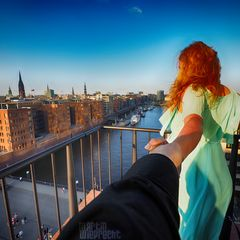 I Follow You: Elbphilharmonie (Plaza: Blick auf Museumshafen)