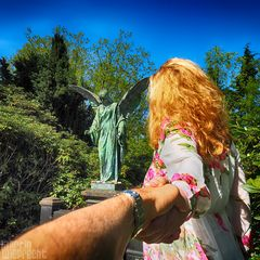 I Follow You: Engel im Ohlsdorfer Friedhof II