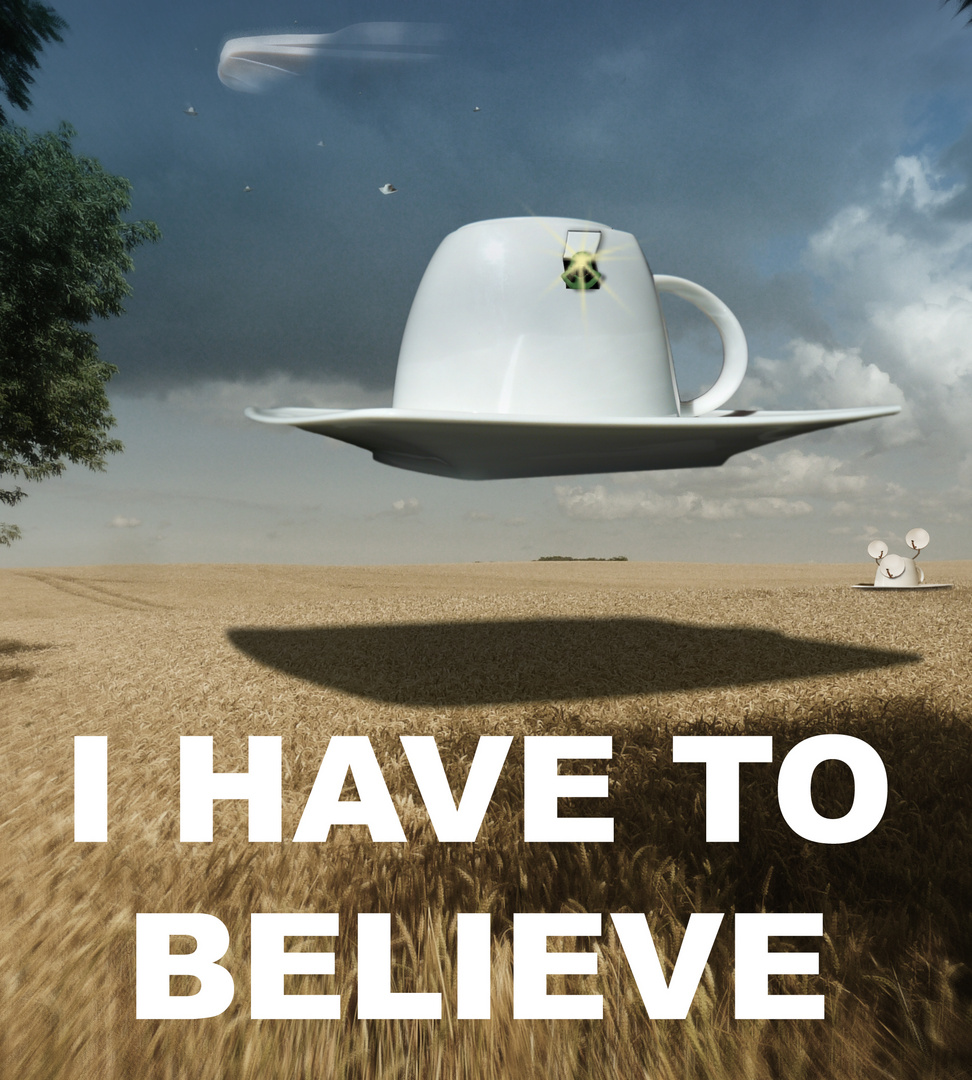I HAVE TO BELIEVE