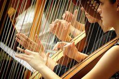 ...i hear the harps...