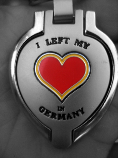 i left my heart in Germany