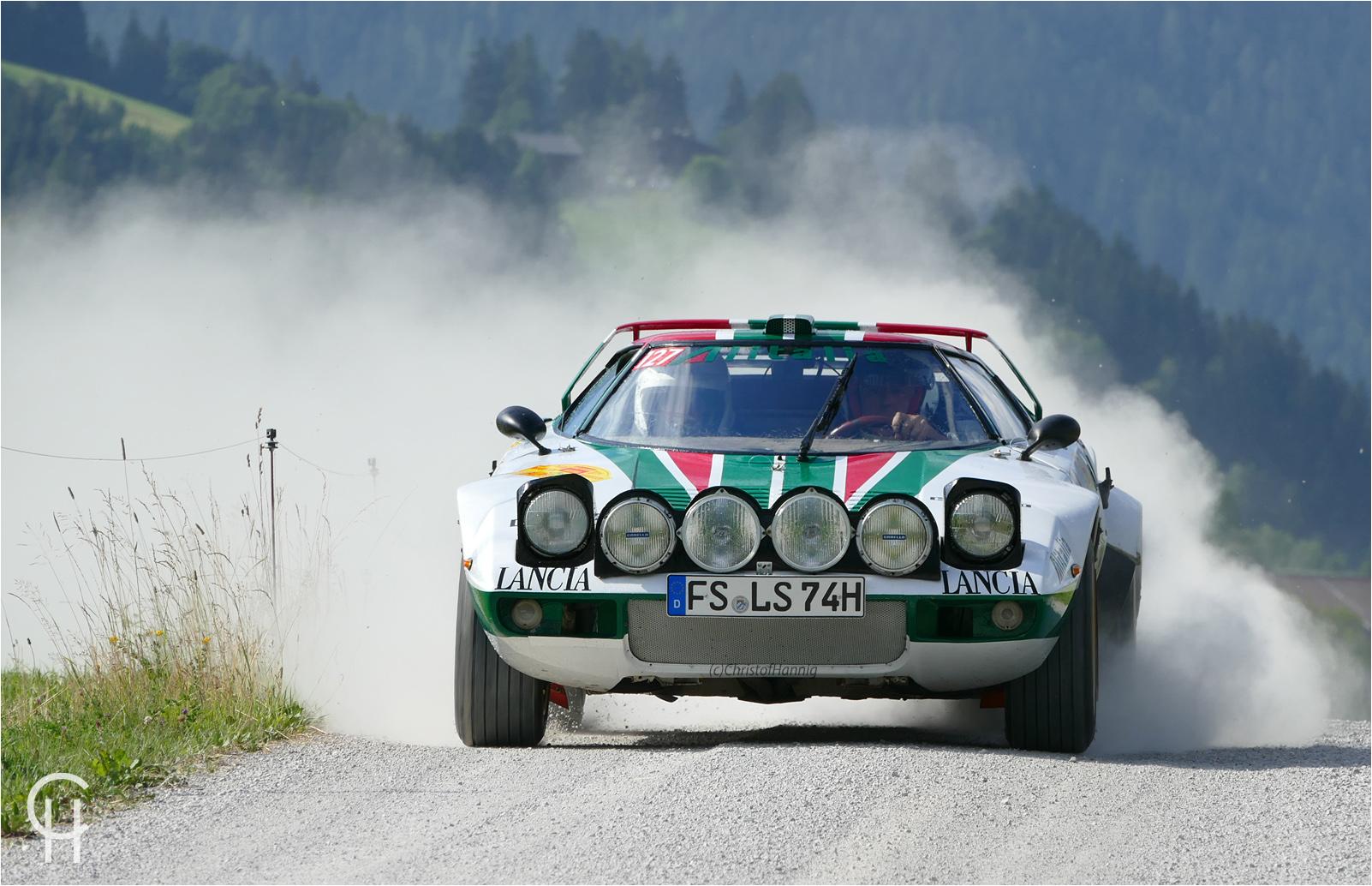 I like Lancia Stratos HF