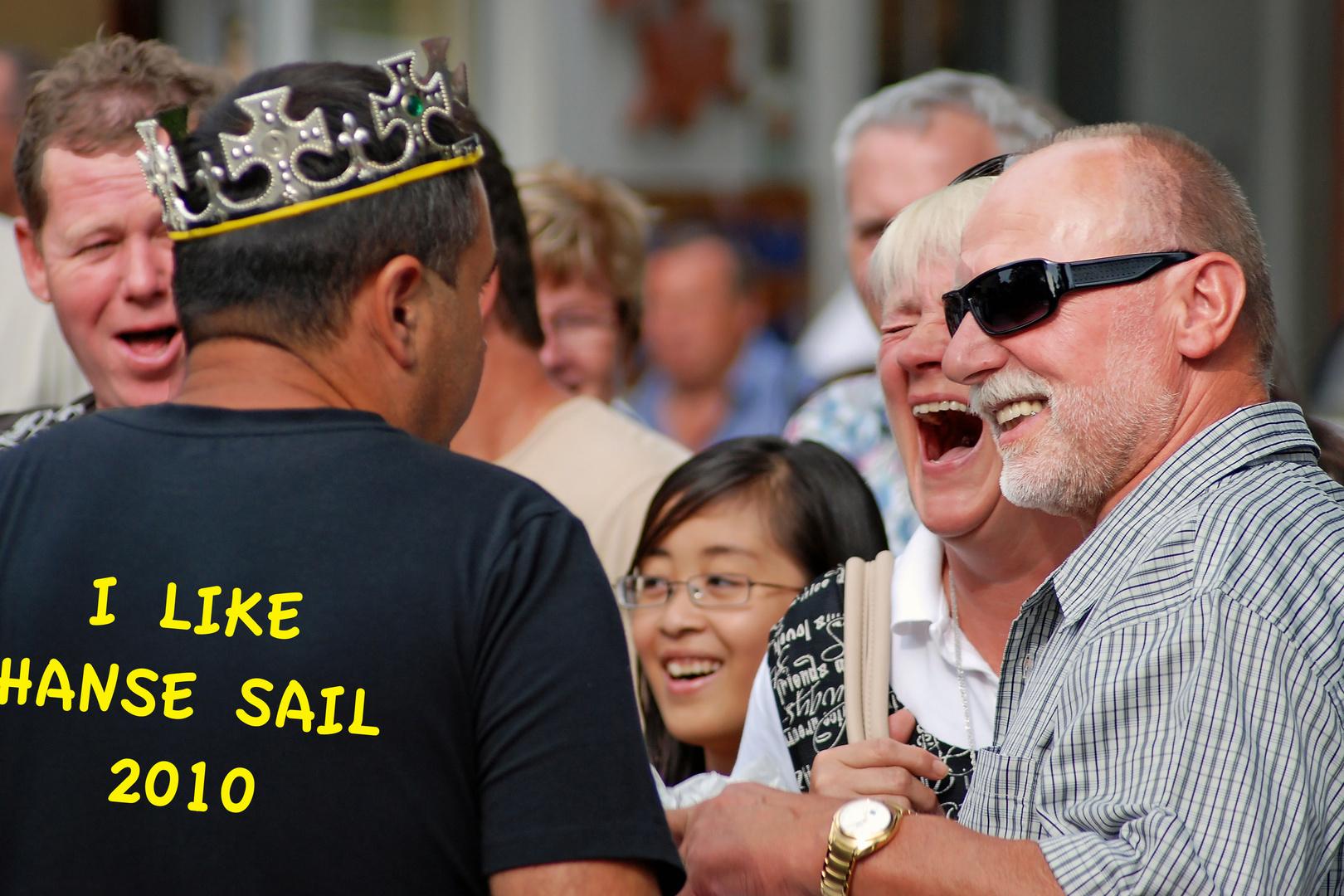 I like the Hanse Sail Rostock