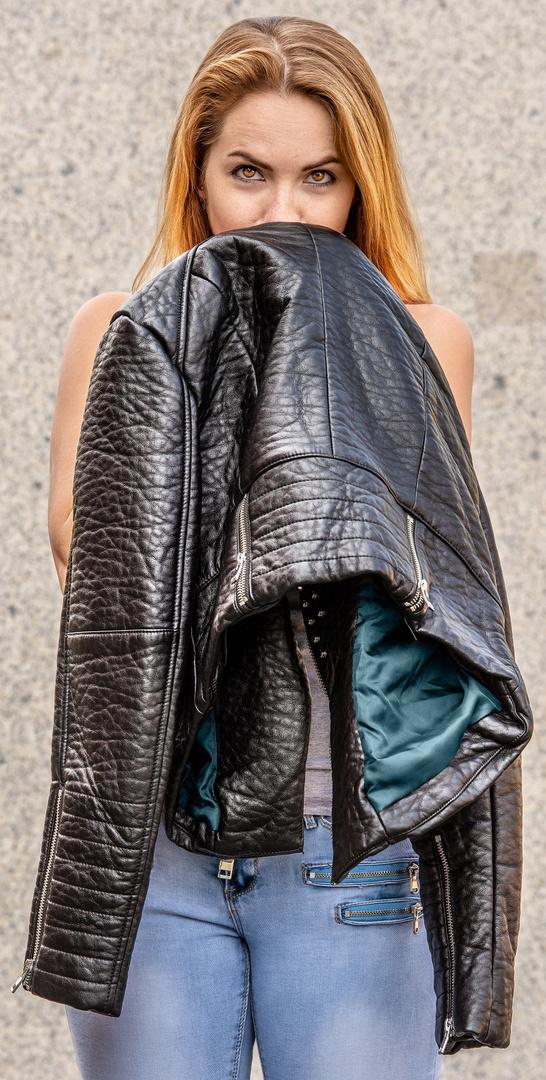 I love my leather jacket