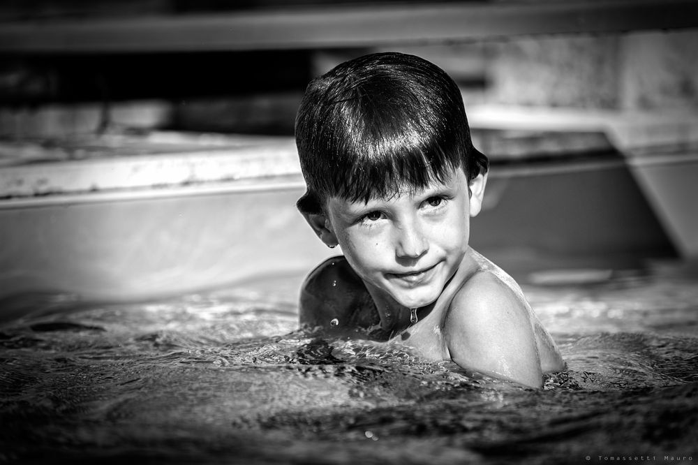 I love swimming
